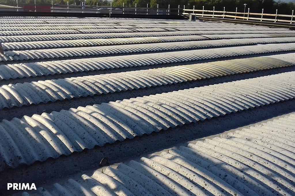 risanamento tetto industriale